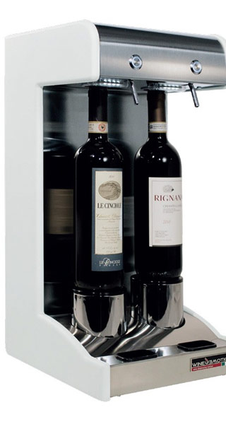 wineemotiondue, dispenser per il vino