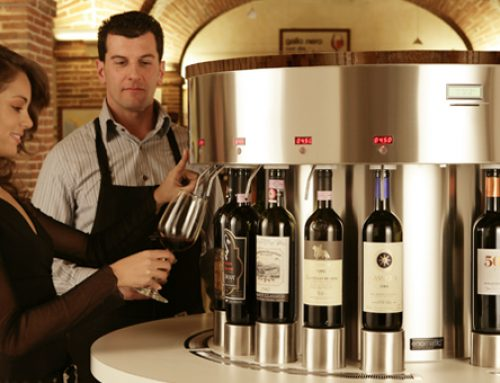 Un Wine Dispenser per preservare il vino